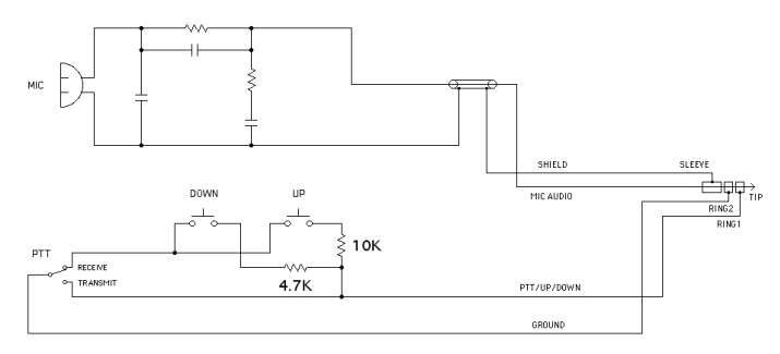 MH3 push to talk foot switch adapter for kx3 wn8u net heil microphone wiring diagram at aneh.co